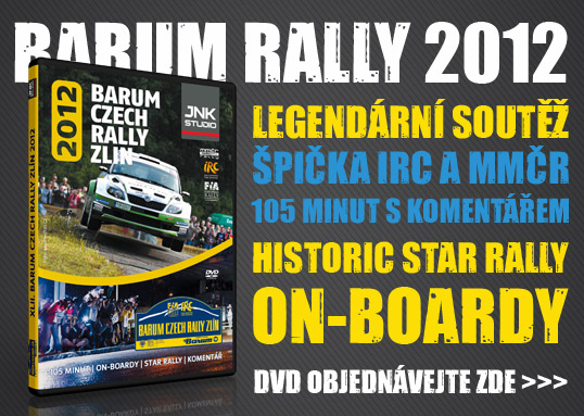 Barum Czech Rally 2012 - DVD