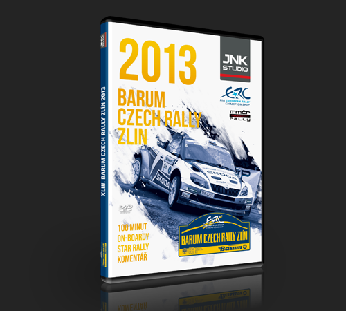 Barum Rally: BARUM CZECH RALLY ZLÍN 2013 (DVD) - JNK STUDIO